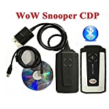 WoW SNOOPER New Design CDP+ Diagnostic Tool For Cars/Trucks Same Function As Autocom CDP+ Without Bluetooth