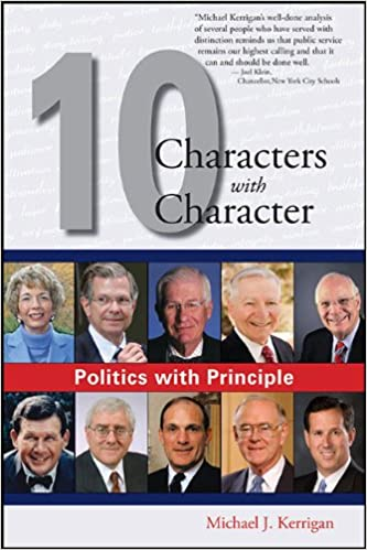 Book Politics with Principle: Ten Characters with Character