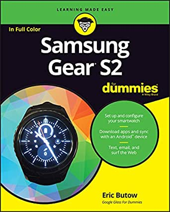 Samsung Gear S2 For Dummies (English Edition) eBook: Eric ...