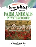 img - for Learn to Paint Farm Animals in Watercolour (Collins Learn to Paint) book / textbook / text book