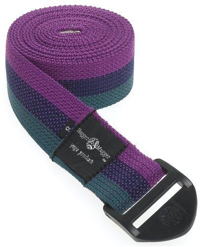 Hugger Mugger Cinch Yoga Strap (Multi-Stripe, 8 ft.)