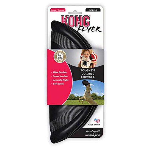 KONG Flyer Dog Toy Black Large