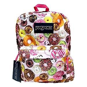 Classic Jansport Superbreak Backpack (Multi Donuts (T50109Y))