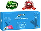 Nag-Champa 100-Incense-Sticks-135-Gram 100%-Natural-Incense-Sticks Handmade-Hand-Dipped The-best-scent
