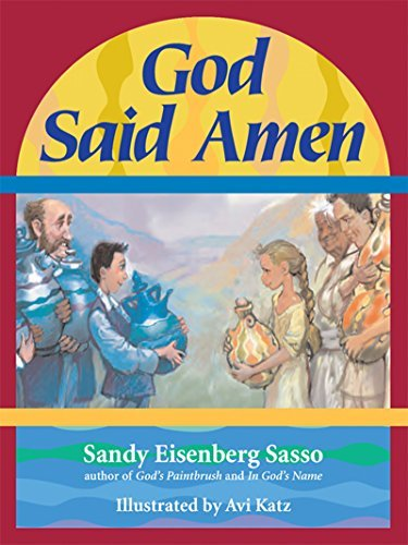 Cover of God Said Amen