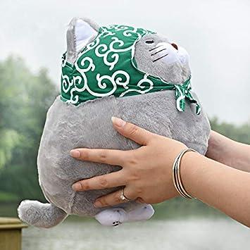 prbll Lindo Gato vaporoso Barbudo, muñeca Gatito, Almohada de Juguete de Felpa, fu Serie Rag muñeca Regalo de cumpleaños Color 30 cm: Amazon.es: Juguetes y juegos