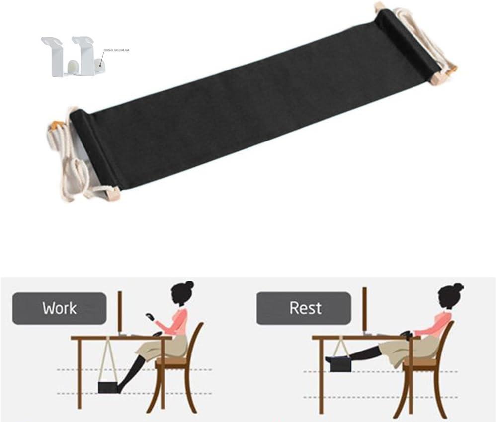 jun q canvas foot rest desk hammockmini office under desk foot rest stand hammock accessories   amazon    rh   amazon