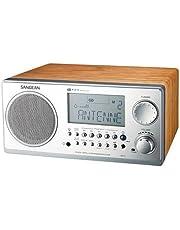Sangean Digital AM/FM Tabletop Radio (Walnut) - WR-2WL