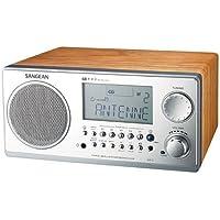 Sangean WR-2 FM-RBDS AMWooden Cabinet Digital Tuning Receiver (Walnut)