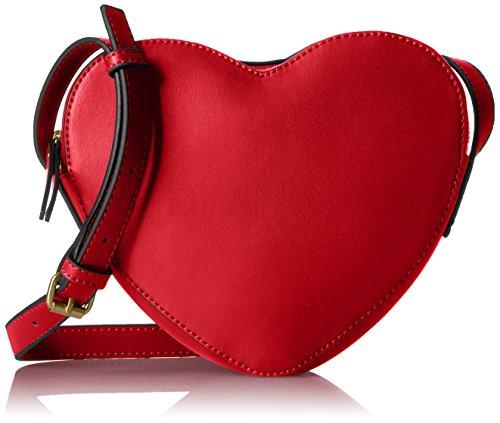 Dear Drew by Drew Barrymore I Heart Nyc Crossbody Bag- Tomato