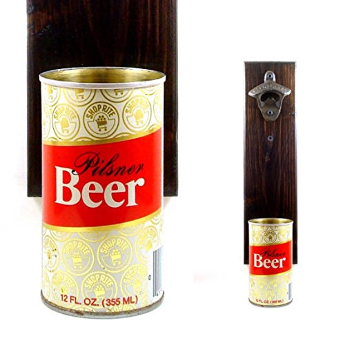 wall-mounted-beer-bottle-opener-with-a-vintage-shop-rite-grocery-pilsner-beer-can-cap-catcher
