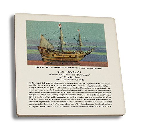 plymouth-massachusetts-mayflower-model-the-compact-in-plymouth-hall-scene-set-of-4-ceramic-coasters-
