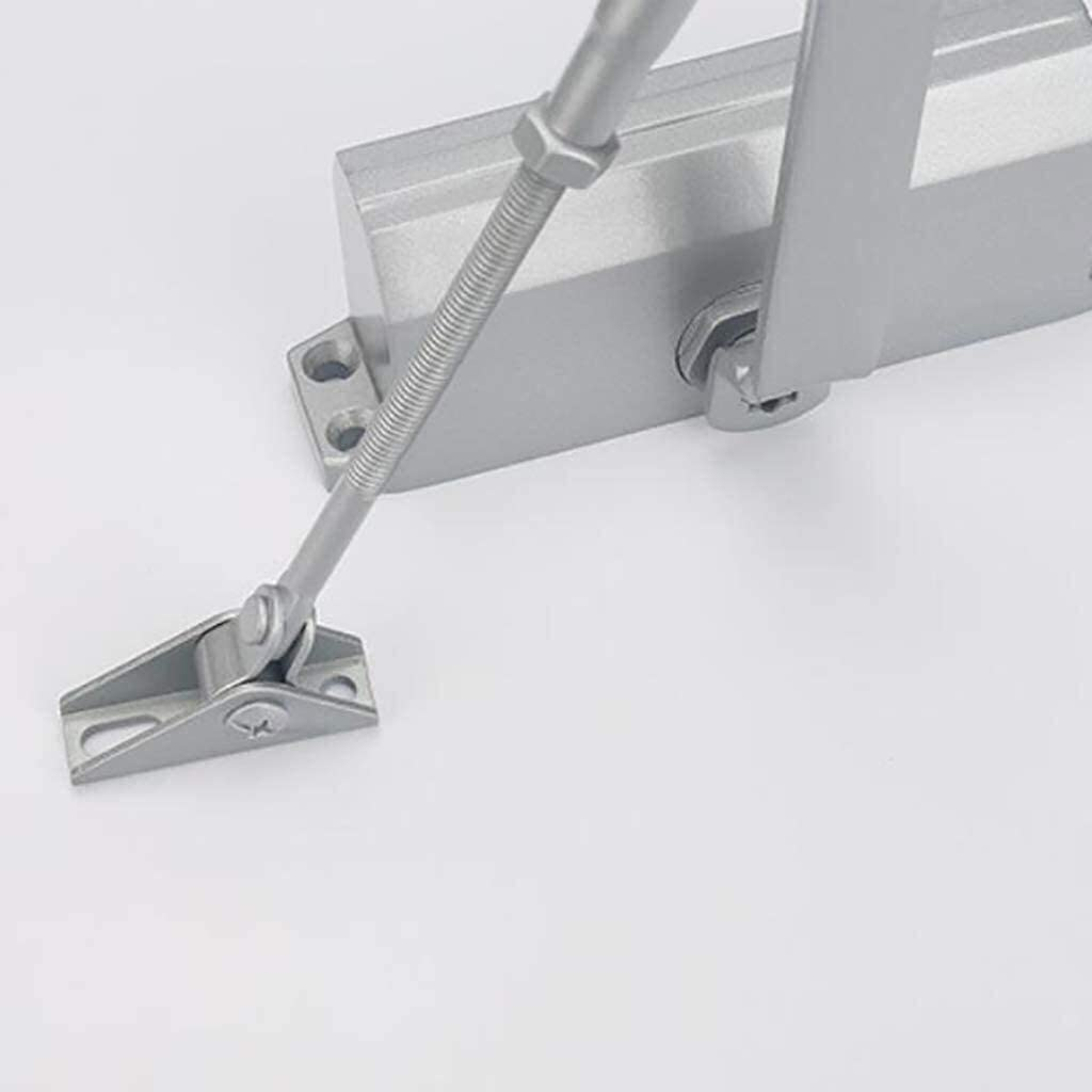 Hydraulic Buffer Closed Door Speed Door Closers for Home Or Commercial Use 18x4x6.3cm 7x2x2inch 0423 FRBQ Adjustable Automatic Door Closers