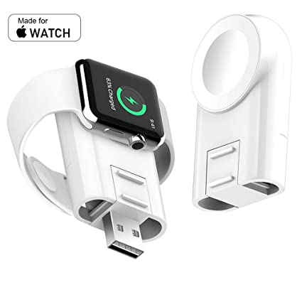 Amazon.com: Cargador para Apple Watch, inalámbrico, portátil ...