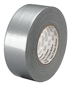 3M Heavy Duty Duct Tape 3939 Silver, 48 mm x 54.8 m 9.0 mil, Conveniently Packaged (Pack of 1)