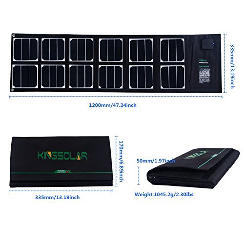 40 Watt Solar Battery Charger - 8
