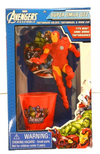 Marvel Avengers Ironman Great Smile Toothbrush Gift Set - In