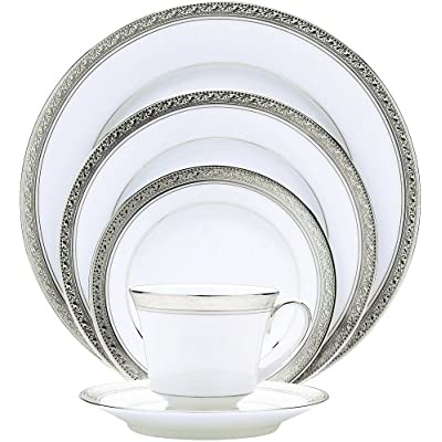 Click for Noritake Crestwood Platinum 5-Piece Place Setting, Service for 1