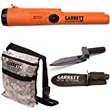Garrett Pro Pointer AT Metal Detector Waterproof with Camo Digger's Pouch and Edge Digger For Sale