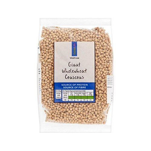 Love Live Giant Wholewheat Cous Cous Waitrose 300g by WAITROSE