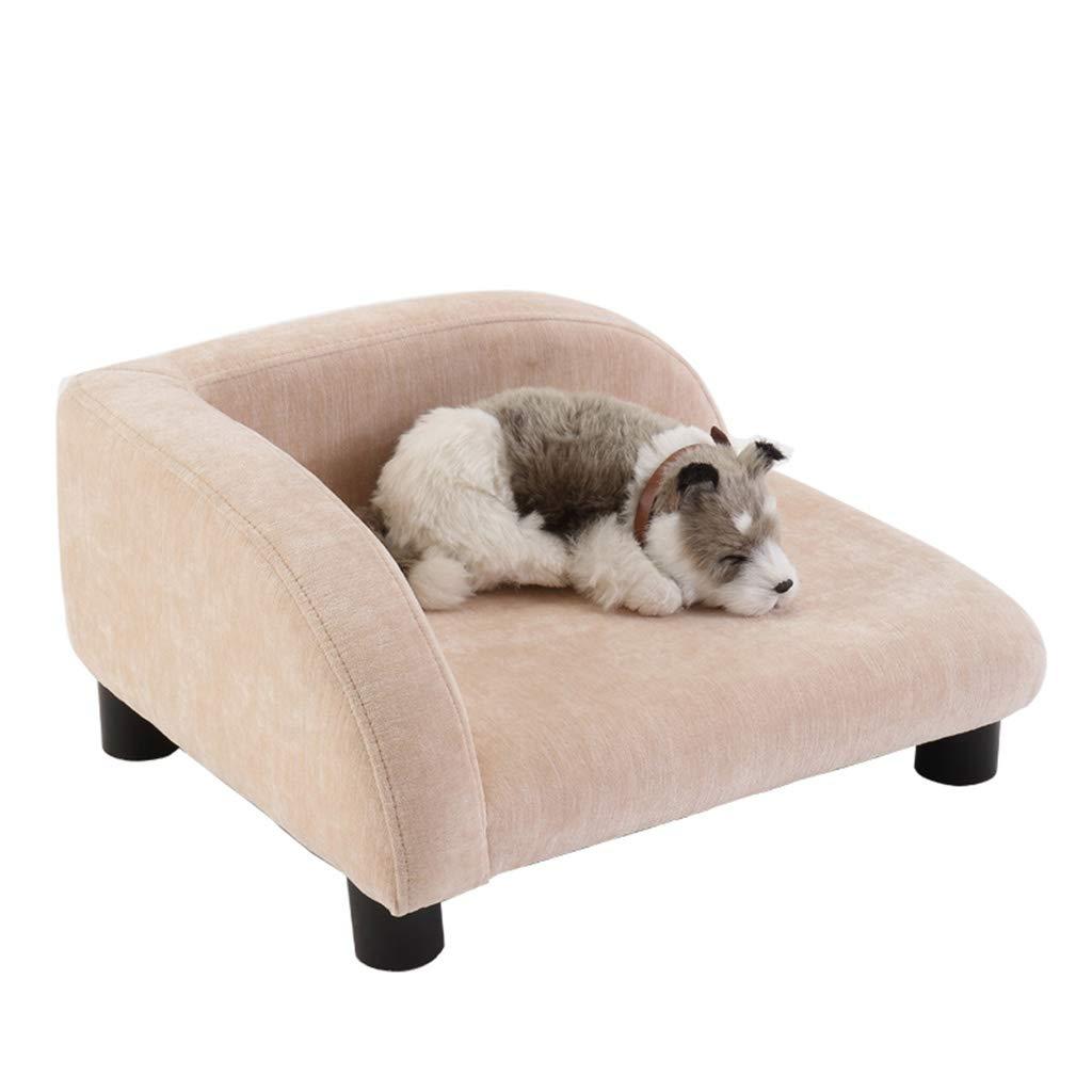 L Pet Bed Teddy Kennel Cat Mat Sofa Four Seasons General Solid Wood Medium Dog Mattress (Size   L)