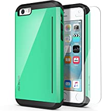 iPhone 5s Case, OBLIQ [Skyline Pro][Mint] w/ HD Screen Protector - with Kickstand Slim Fit Bumper Dual Layered Heavy Duty Hard Protection High Quality Case for Apple iPhone 5s & iPhone 5