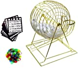 Large 18inch Tall Professional Bingo Set with Ping Pong Balls