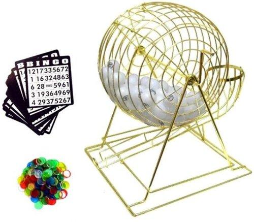 大18インチTallプロフェッショナルBingoセットwith Ping Pong Ballsの商品画像