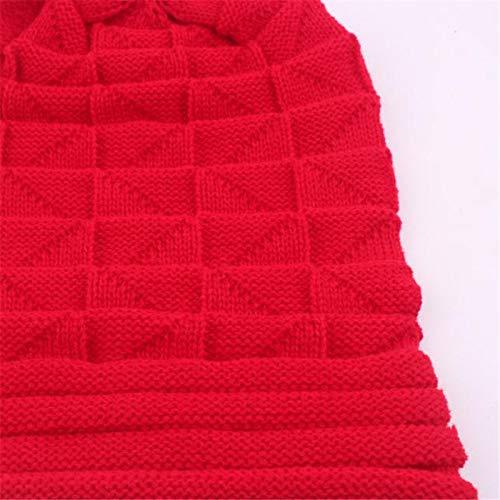 Cebbay Liquidación Gorros de Punto Puños Plisados Crochet Calientes de  Invierno de Las Mujeres Gorra de Moto de Deportes de Ocio al Aire Libre(Beige)   ... ea850517e41