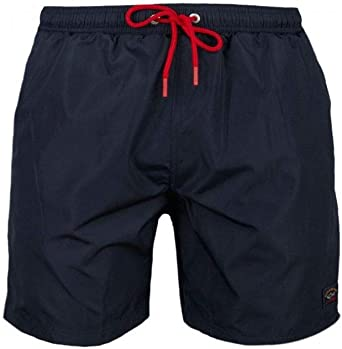 Paul /& Shark COP5001-013 Short Boxer Mare Uomo Beach-Wear Blu Navy Regular Fit