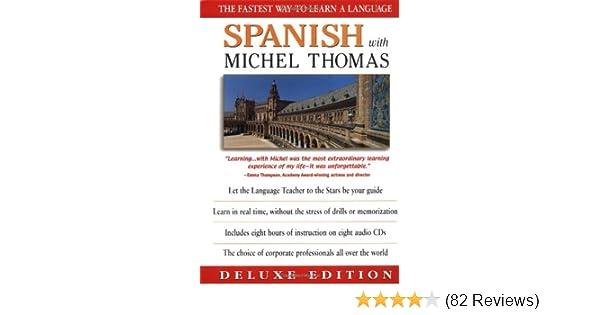Amazon com: Spanish With Michel Thomas (Deluxe Language