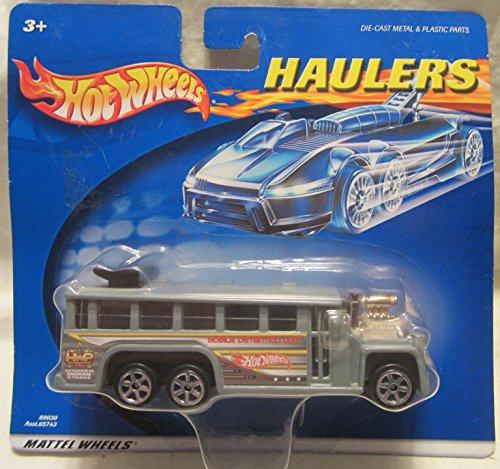 Hot Wheels Haulers Mobile Detention Unit GMC Police Bus