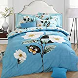 DHWM-Pure Cotton Mill with four piece, active cotton bed linen, double bed 4 piece ,2.0m