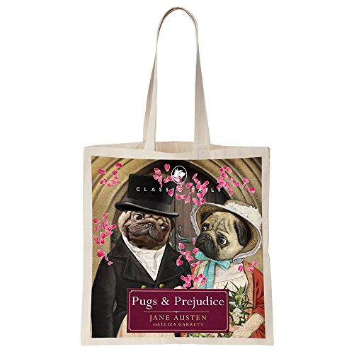 Tails Totebag Prejudice Illustrated Classic Beautifully and Pugs fqYddwA