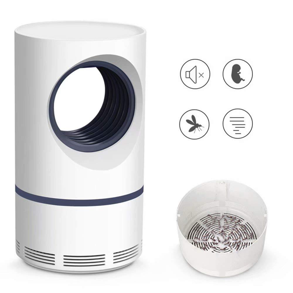 MJ-Mosquito lamp Camping Lantern Repellente per zanzare Lampada Killer Net Tent Light USB Ricaricabile Silenzioso Impermeabile Senza Radiazioni Luci Interne Sport all'Aria Aperta Situazioni Bianco