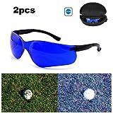 ZBSPM 2Pcs Golf Ball Finder Glasses, Golf Finder