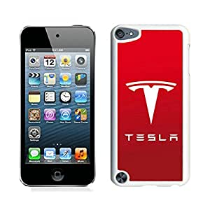 Beautiful Designed Case With Tesla Logo 3 White For iPod Touch 5 Phone Case