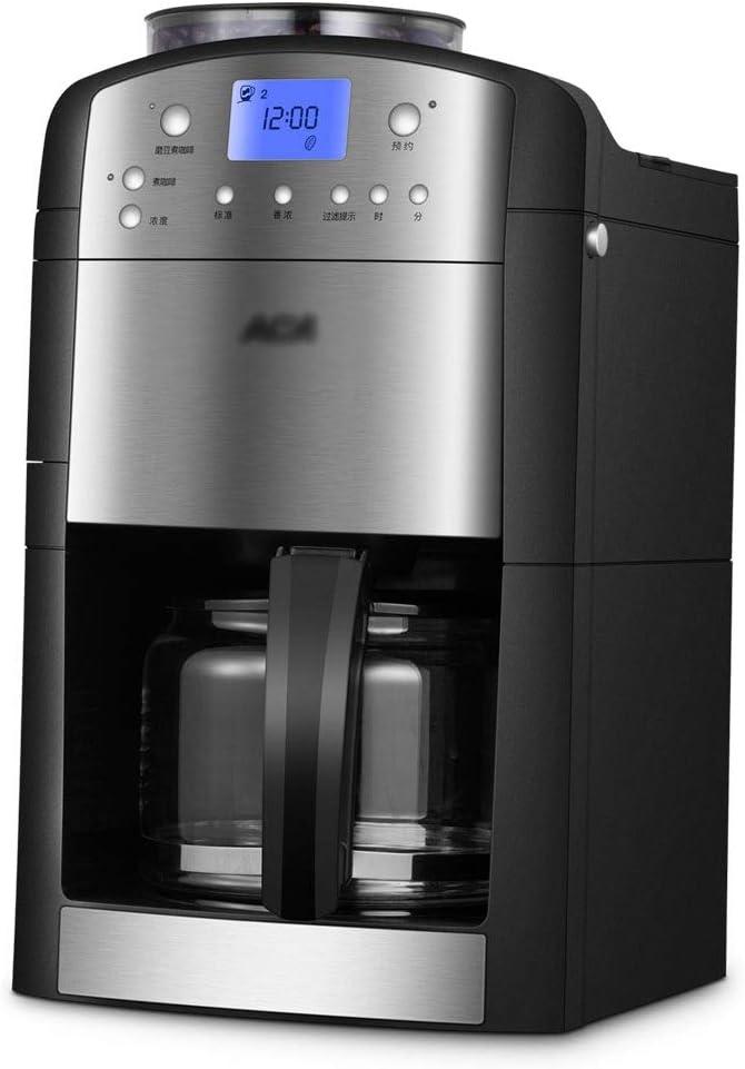 Cafetera De Filtro Trituradora Automática Doméstica Goteo (Color : Black, Size : 24.5 * 24.8 * 39cm): Amazon.es: Hogar