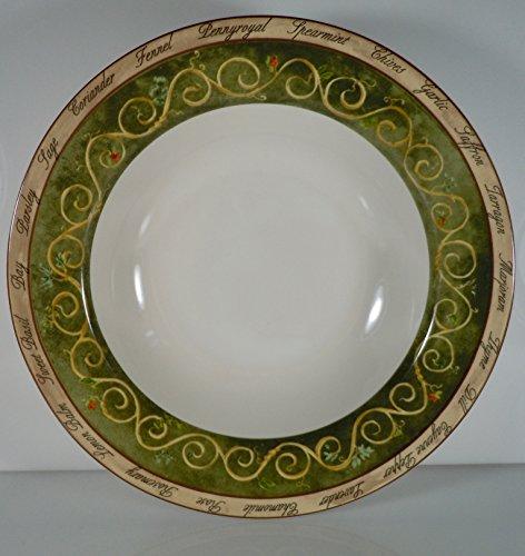 - American Atelier Bouquet Garni Soup Bowl 9 1/4