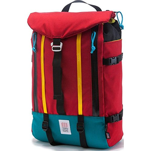 Topo Designs Mountain Backpack Red, One Size
