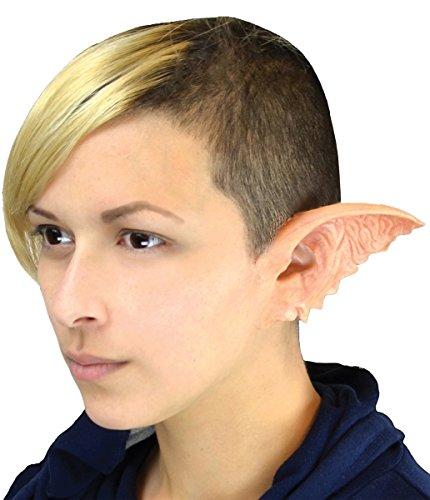 Morris Costumes Gremlin Ears - Foam Prosthetic,Pink,standard