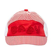 Jiayiqi Toddlers Stripe Letters Cap Baseball Hat for Sun Production