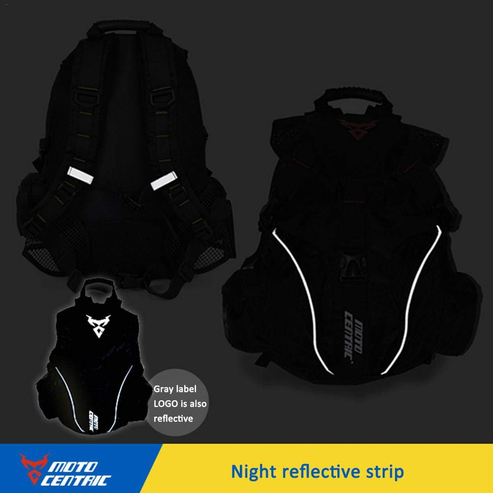 Amazon.com: Laideyilan MOTOCENTRIC Motorbike Backpack Outdoor Sports Riding Package Motorcycle Helmet Backpack Motorcycle Cycling Computer Backpack Kit Bag ...