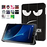 Samsung Galaxy Tab A 10.1 Cover Case (SM-T580/SM-T585) - Slim Lightweight Standing Custom Fit Cover [Auto Sleep / Wake up] for Tab A 10.1 Inch Tablet (don't touch me)