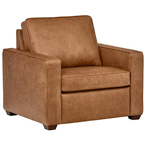 Classic Top-Grain Leather Chair, 40