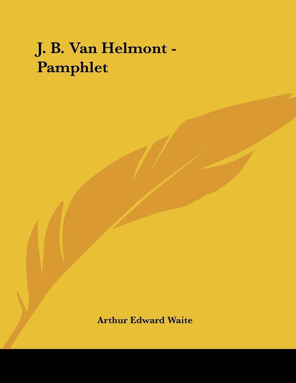 J. B. Van Helmont - Pamphlet PDF