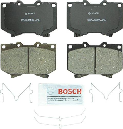 (Bosch BC812 QuietCast Premium Ceramic Front Disc Brake Pad Set)