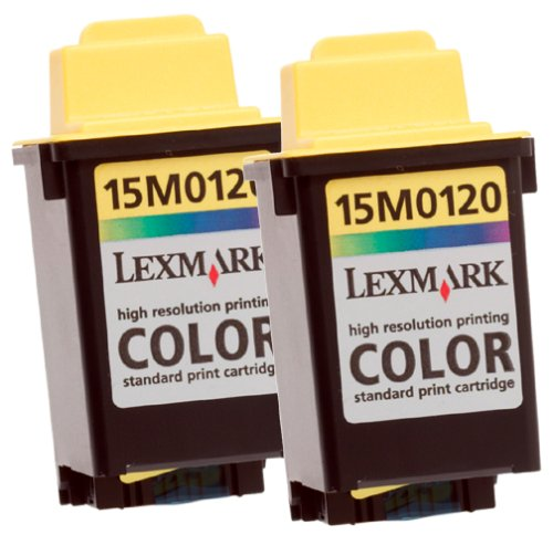 Lexmark 15M1375 Color Ink Cartridge Twin Pack (2 of 15M0120)