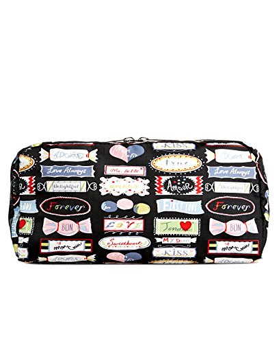(LeSportsac Boxed Rectangular Cosmetic Case (Sweet Essence Black))