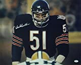 Dick Butkus Autographed/Signed Chicago Bears 16x20 Photo vs Packers JSA
